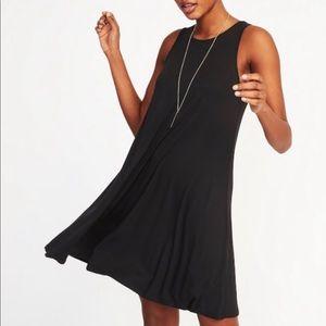 Old Navy Black Swing Dress